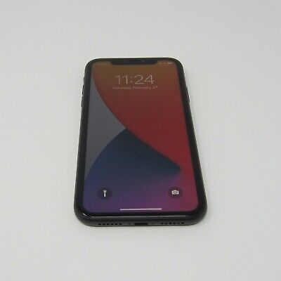 Apple iPhone 11 Factory Unlocked Black 64GB A2111