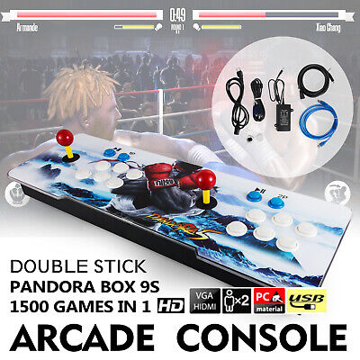 2020 New Version ! Pandora's Box 9S 1500 Games 2D/3D video game Double-players