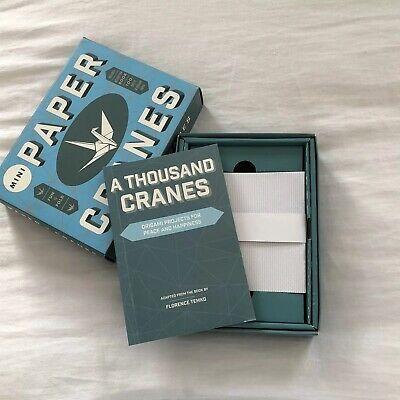 Mini Paper Cranes: fun-to-fold origami birds paper art craft kit –2017 - Origami Crafts