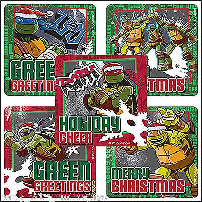 Teenage Mutant Ninja Turtles Stickers x 10 - TMNT Stickers - Christmas Presents ()