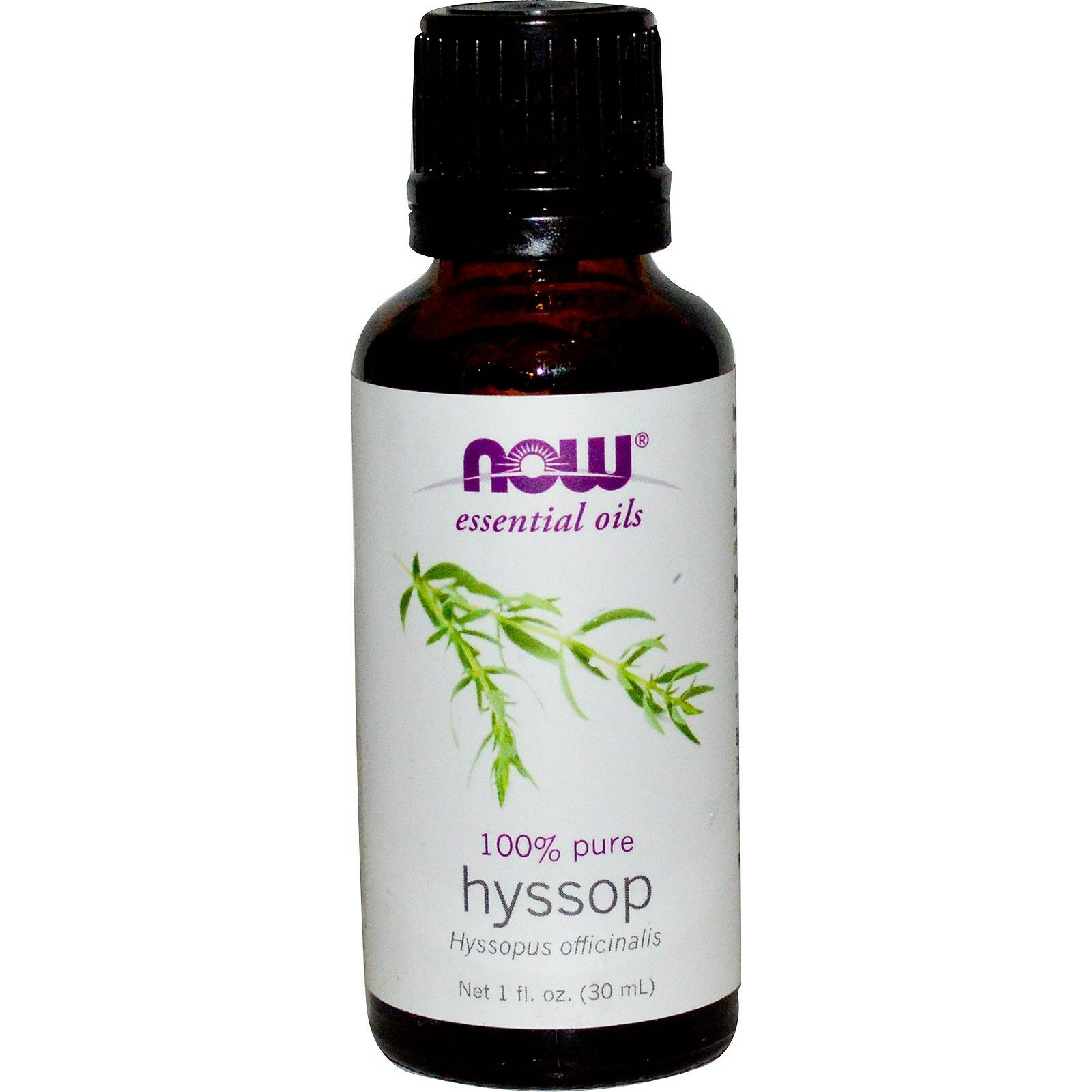 NOW Foods 1 oz Essential Oils and Blend Oils - FREE SHIPPING! Hyssop