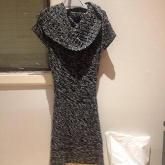 Knit Dress Fitted Ice Design XS Midi Deer Park Brimbank Area Preview