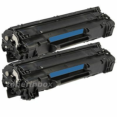 2 Pack Replacement Toner For HP CE285 85A Laserjet Pro P1102