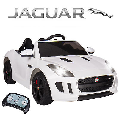 Kids Ride On Sports Car Jaguar F-Type Battery Official Licensed Remote Control