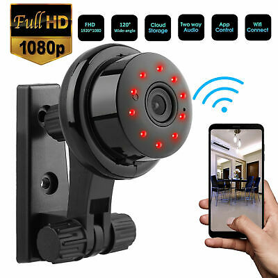 Mini Spy Camera Wireless Wifi IP Security / Baby Monitor, HD 1080P Night Vision