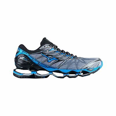 Mizuno Wave Prophecy 7 Men's Running Shoes (Size 7 & 8.5) Silver Blue Black Mizuno Black Shoes