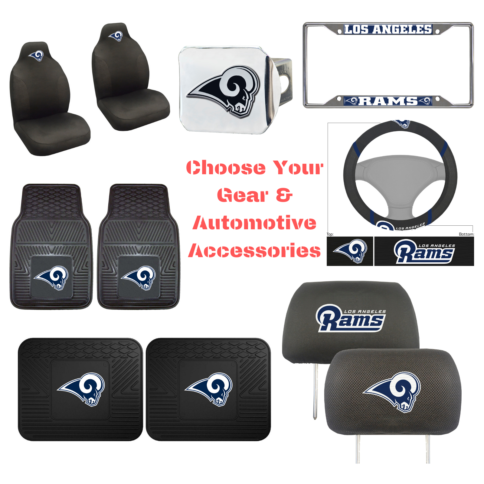 nfl los angeles rams choose your gear