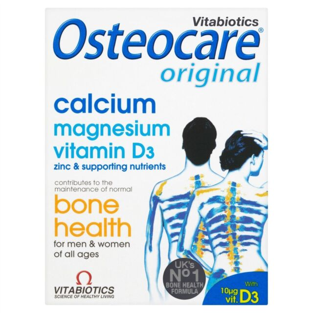 Vitabiotics Osteocare Original 30 Tablets Calcuim & D3 Low  Price Fast Delivery