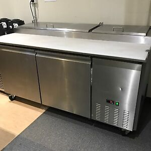 Commercial Bench Fridge Stainless Steel Thebarton West Torrens Area Preview