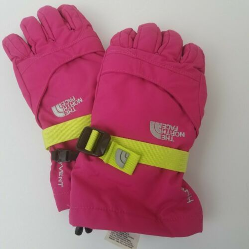 The North Face Hyvent Pink Winter Gloves Youth/Junior Large - excellent