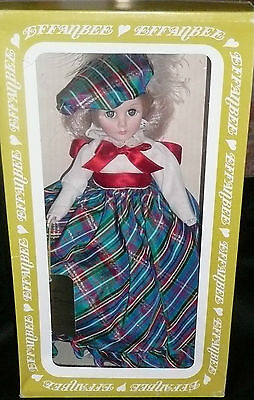 """EFFANBEE Grandes Dames 11"""" Doll Collection """"Vicki"""" 1983 Collectible #1156 <NEW>"""