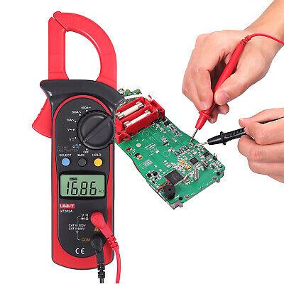 Digital Clamp Meter Tester Acdc Volt Amp Multimeter Ohm Tester Current 600a Us