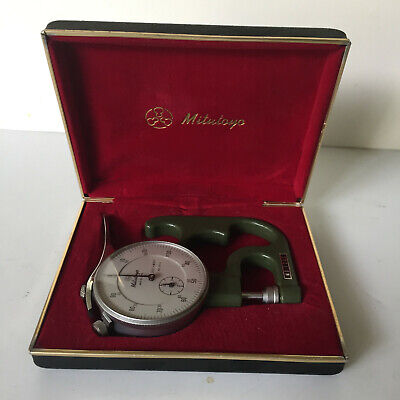 Mitutoyo Mfg Co Ltd 7300 Dial Thickness Gage With Box