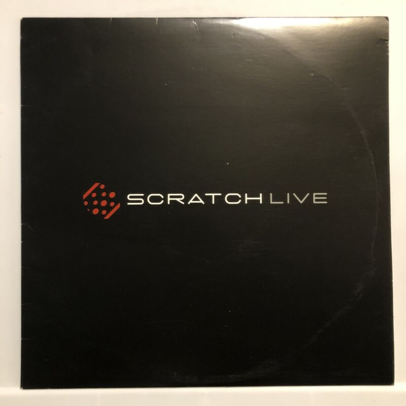 SERATO Scratch Live SCV-12002 Control Vinyl