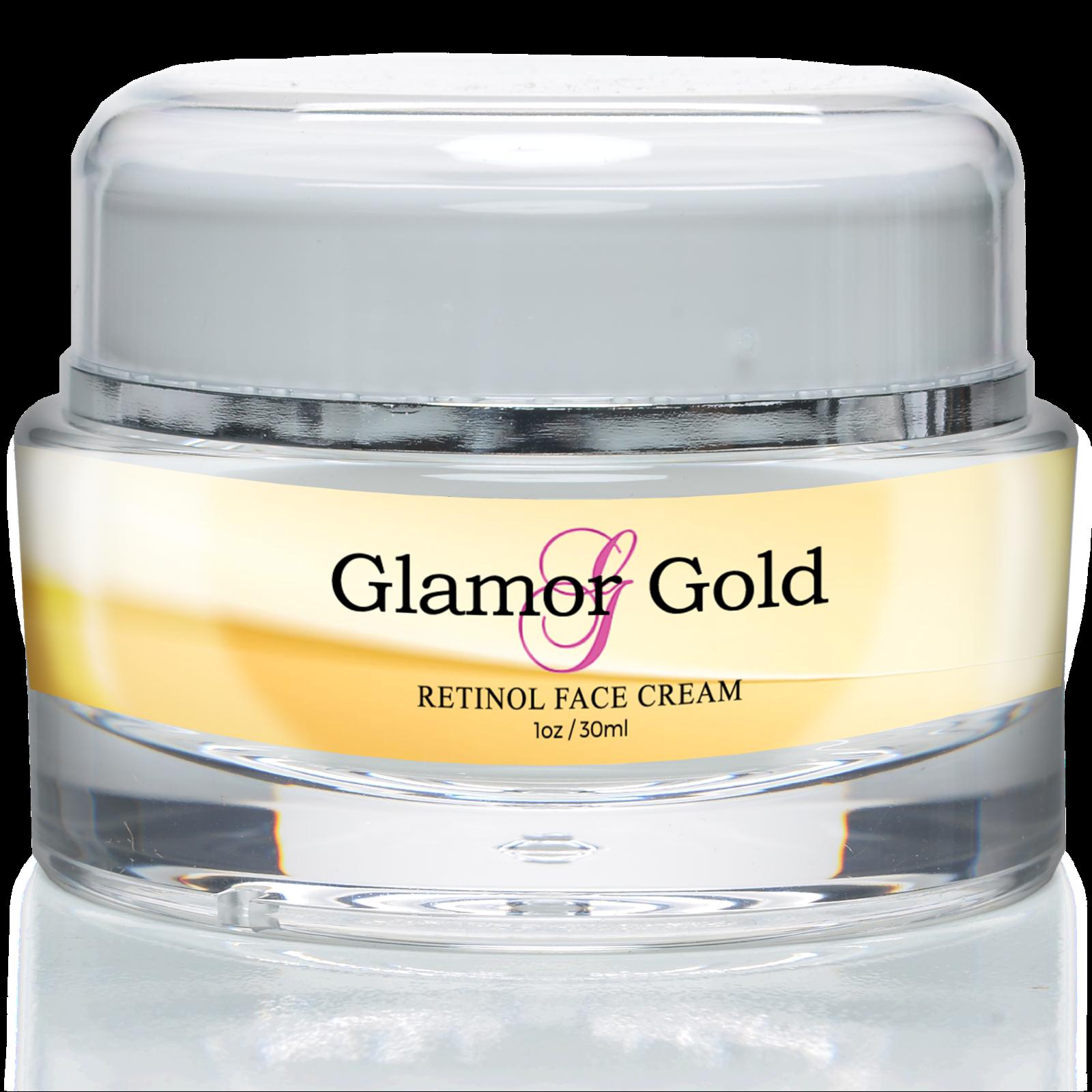 Glamor Gold Retinol Face Cream - Anti Aging Day/Night Cream