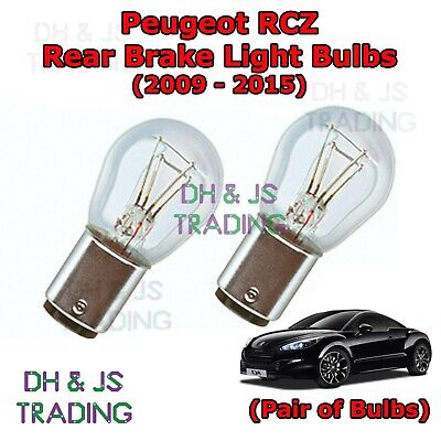 2x Peugeot 807 Genuine Osram Ultra Life Rear Indicator Light Bulbs Pair