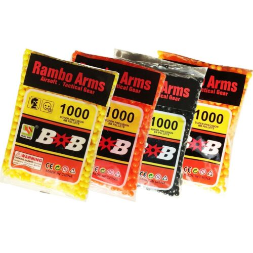 Best Quality Airsoft Gun Bullets 0.12 Gram 6 mm BB