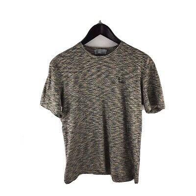 Vintage Missoni Men's Multi-Striped Wave ZigZag Jumper T-Shirt Medium