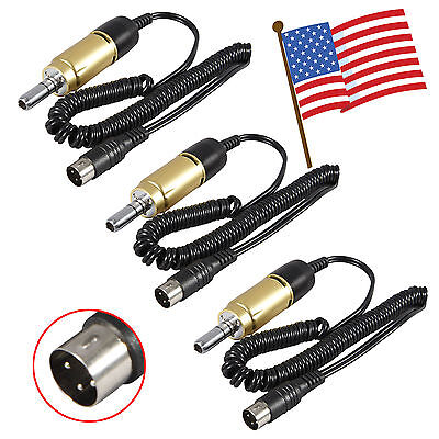 3 Dental Lab Electric Micromotor 35k Rpm Marathon Handpiece E-type Connector Ka-