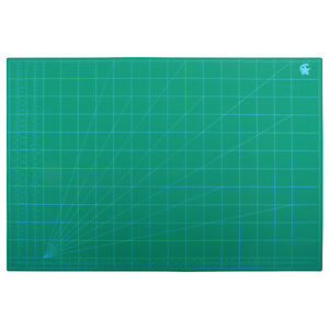 A1 Professional Helix Cutting Mat Non Slip Self Healing Printed Grid Lines Craft