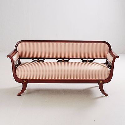 Antique empire style hardwood  Sofa  1900s