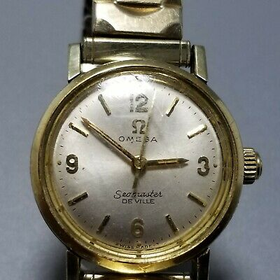 Vintage Omega Seamaster De Ville Ladies Watch Manual Wind 17 Jewel 630 Movement