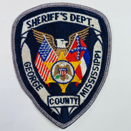 George County Sheriff Mississippi Patch