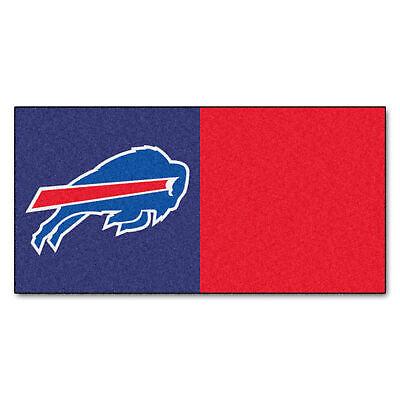 Fanmats 8544 NFL - Buffalo Bills Team Carpet Tiles 18