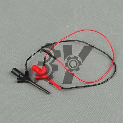 New Mini High Test Clip Grabber Smd Ic Hook Probe Connection Red Black