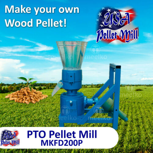 PTO Pellet Mill For Wood - MKFD200P - USA