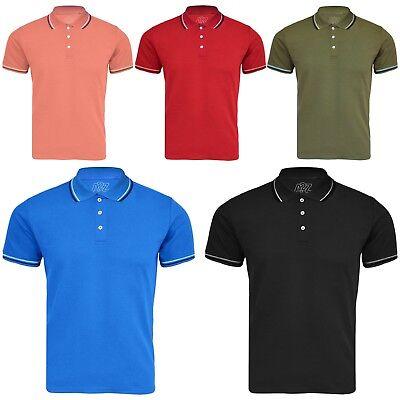Kids Girls Boys Polo T Shirt Designer Plain Color School T-Shirts PE Top 3-13 Yr ()