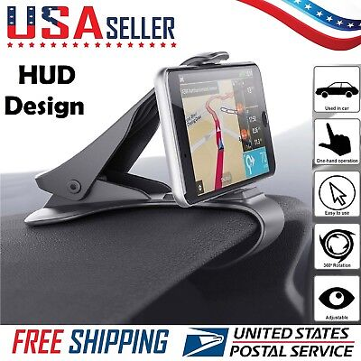 Universal Car HUD Dashboard Mount Holder Stand Bracket Mobile Cell Phone GPS HOT