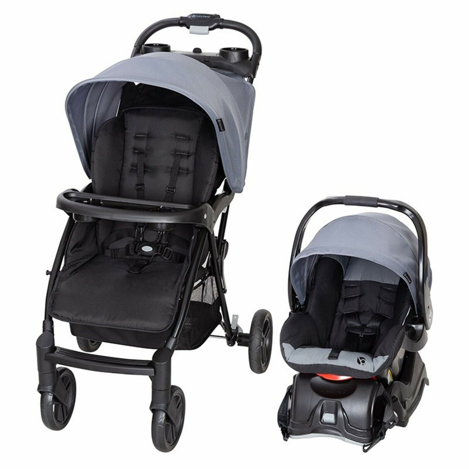 Baby Stroller Car Seat Combo Newborn Infant With XL Storage