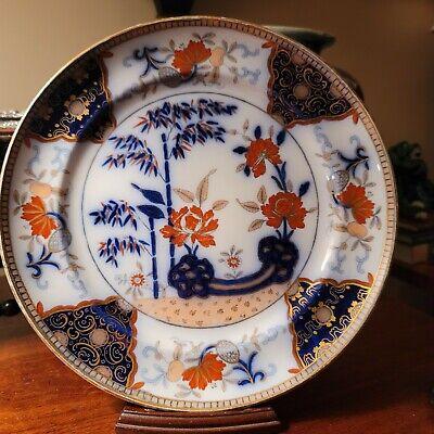 19th C English Transferware Dinner Plates Set of 8