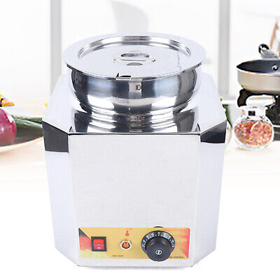 Commercial Cheese Chips Sauce Warmer 6 L Warmer Kettle Pan Carnival King