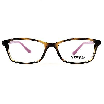 New VOGUE Women's Optical Eyeglasses RX Frame VO 5053 2406 Dark Havana 51-16-135