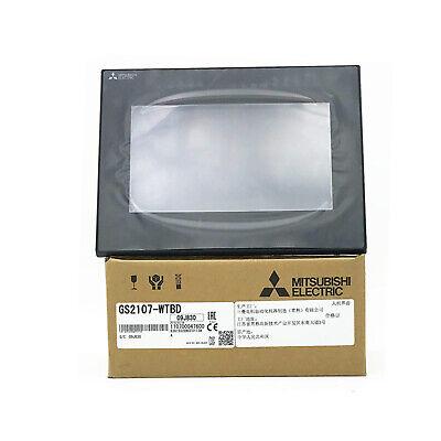 New In Box Mitsubishi Hmi Gs2107-wtbd Touch Screen