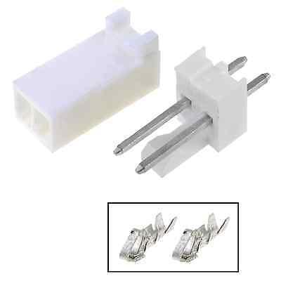 5pcs Molex Connector 2 Pins 254mm Tht Mf Arduino Pcb