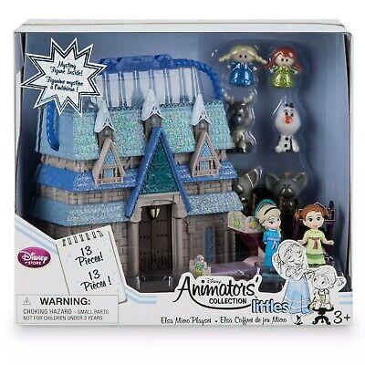 Disney Frozen 2 Mini Anna Elsa Animators Collection Littles Doll Boxed Playset