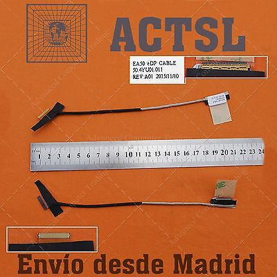 Cable de Video LCD Flex para Packard Bell Easynote Te69kb / Ms2384...