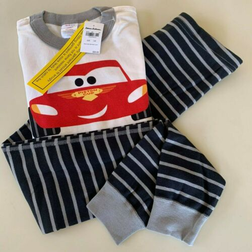 "HANNA ANDERSSON Awesome Boys ""CAR"" Pajama Set, 8-10 Years, 140 cm. Warm-Comfy"