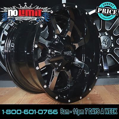 20X10  24 Moto Metal 970 Chevrolet Silverado 1500 Gmc Gmc Sierra  Wheels Rims