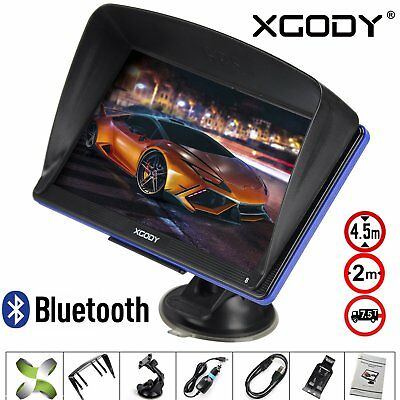 "XGODY 7"" 8GB Truck Car GPS Navigation Navigator SAT NAV Lorry SpeedCam US Maps"