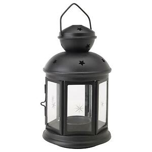Glass tea light holders candles ebay - Laterne ikea ...