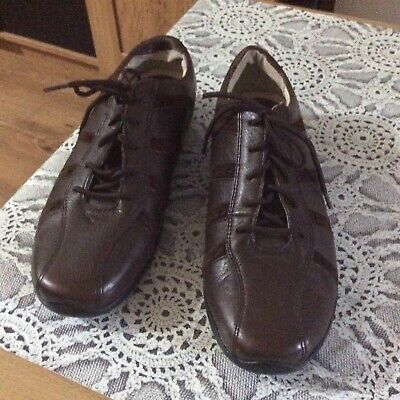 Fab Ladies Hush Puppies Casual Shoes In Brown NEW ,size 6