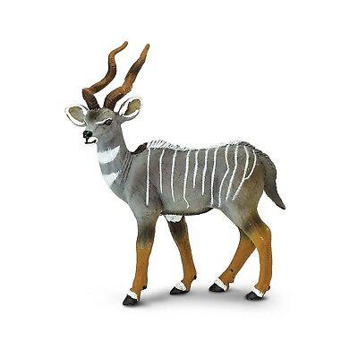 Lesser Kudu Wild Safari Animal Figure Safari Ltd NEW Toy (Wild Animal Figure)