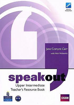 Longman SPEAKOUT Upper Intermediate Teacher's Resource Book by Comyns Carr @NEW@