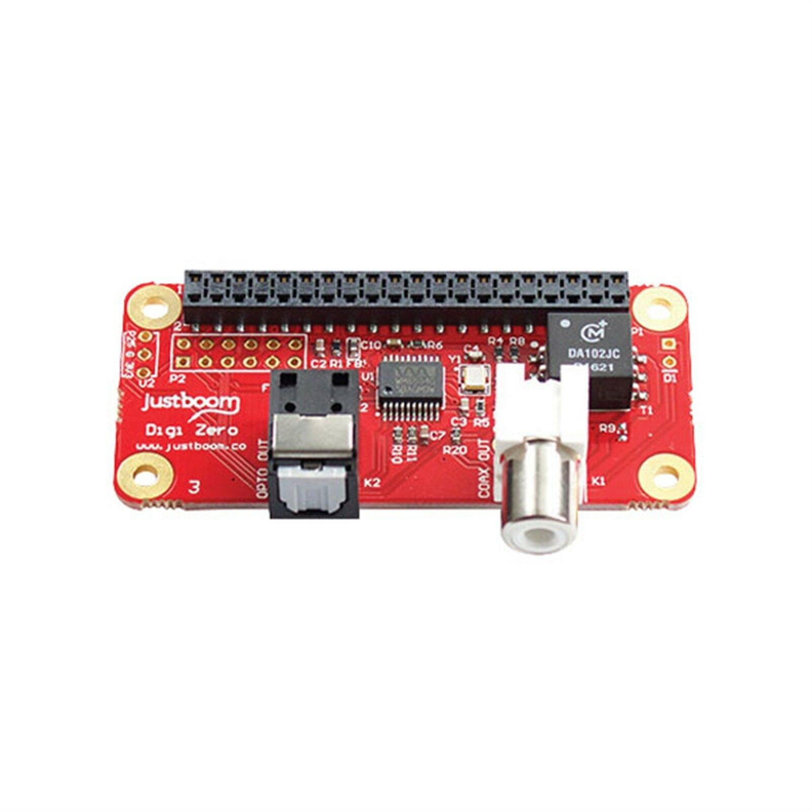 Details about Pi Supply JBM-005 JustBoom Digi (Digital) Audio pHAT for  Raspberry Pi Zero