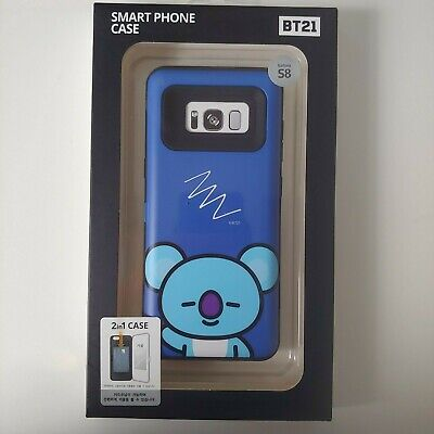Official BT21 KOYA Card Bumper Phone Case Cover Shockproof for Galaxy S8 BTS
