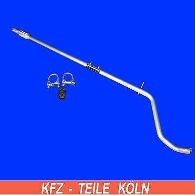 Montagesatz Mittelrohr FORD KA 1.3i Schrägheck 96-00 Auspuff Auspuffanlage